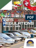 522 2015 World Solar Challenge Event Regulations