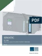 Digital Input 6ES7521 1BH00 0AB0