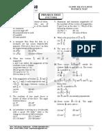 Class XI - Physics Test # Vectors (22.4.2016)