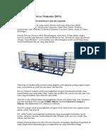 Teknologi Reverse Osmosis