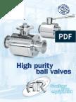 High Purity Ball Valve (VSS-15)
