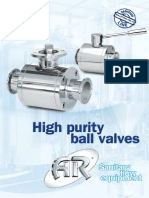 High Purity Ball Valve (VSS-15)