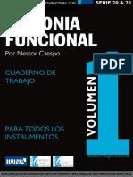 TEORIA - GRATIS - Armonía Funcional 1 - Sin Audios Ni Trabajos Prácticos