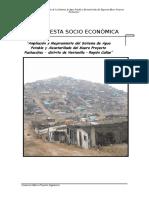 estudio socioeconomico