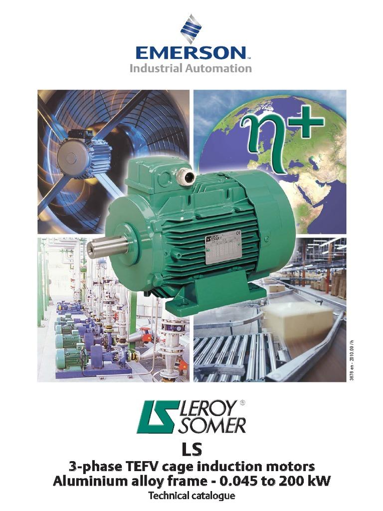 Leroy Somer Electrical Motor Bearing Mechanical