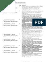 III a Intensiv-Indicatii de Rezolvare 2009