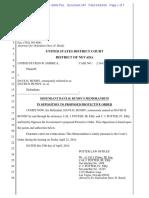 04-29-2016 ECF 347 USA v DAVE BUNDY - MEMORANDUM in Opposition to Proposed Protective Order