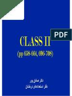 Amalgam Class II Prep