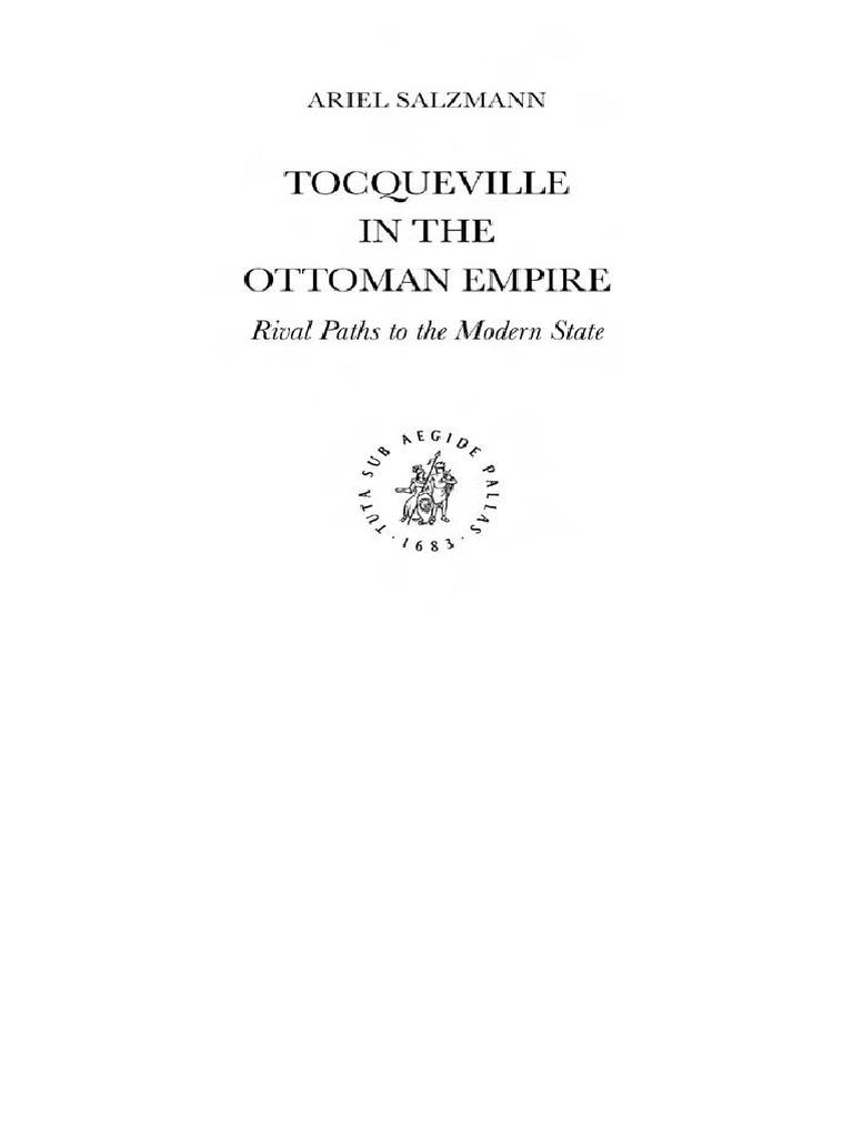 Tocqueville In The Ottoman Empi Ariel Salzmann Alexis De  # Bibliotheque Saraya