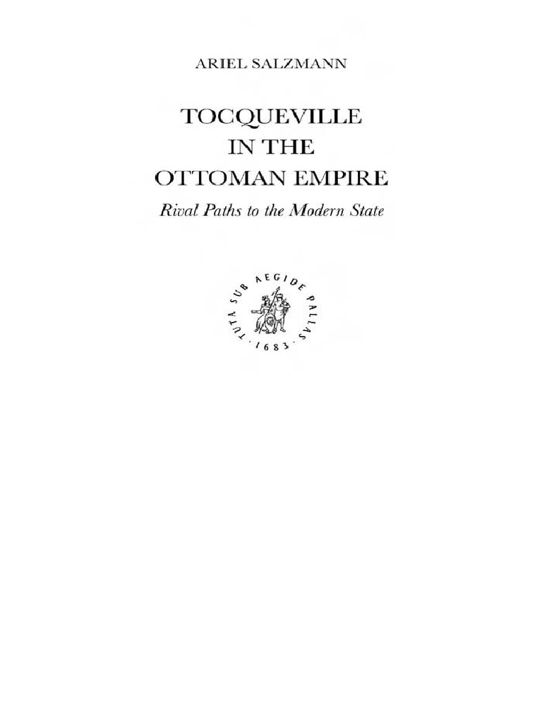 Tocqueville In The Ottoman Empi Ariel Salzmann Alexis De Wind Turbine Diagram Enhar Consumer Guide Energy Renewable Empire