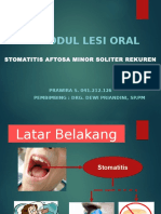 LK OM 2 (Stomatitis Aftosa Minor)