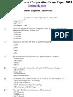 Www.infipark.com Home Articles Uppcl Exam Paper 2013