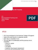 Acute Trauma Management (1)