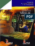 Normas de Seguridad en Los Talleres de Automocion-JCYL