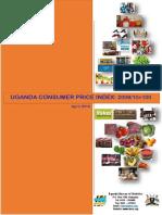 UBOS Uganda Statistics April 2016