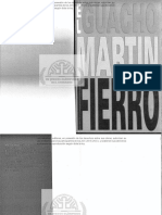 El Guacho Martin Fierro OSCAR FARIÑA