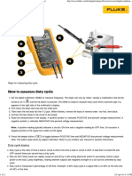 How to Measure Duty Cycle With a Digital Multimeter