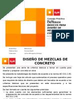 Consejo Práctico 01 Diseño de Concreto