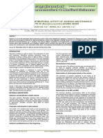 Assessment of Antimicrobial Activity of Aqueous and Ethanolic Ehuru