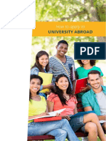 How to Apply to University Abroad