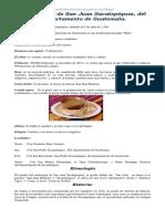 ACTUALIZADA Monografía de San Juan Sacatepequez