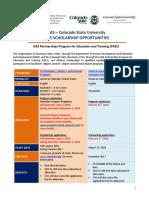Announcement 2016 OAS Colorado Scholarship Application Final