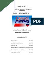 Case Study_Crystal Pepsi Failure