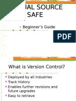 7428847 Visual Source Safe Vss Beginner s Guide