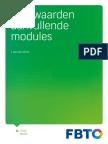 Voorwaarden Aanvullende Modules 2014