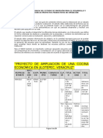 INTEGRA Mod II 2 Proyecto en Operación Cocina