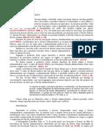 Direito Administrativo - Escrito