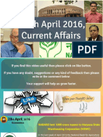 28 April 2016 Current Affair for Competition Exams