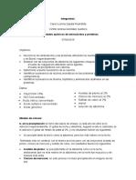Informe Aminoacidos y Proteinas