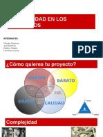 Complejidad proyectos