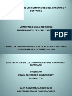 Identificacion- Hardware and Software[1]
