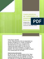 Casos Prácticos de Contabilidad de Empresas Financieras