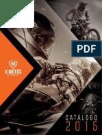 X MOTOS Catálogo de Produtos