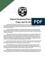 MidAtlantic Regional Bargaining Report #67 -G
