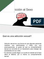 Adicción Al Sexo Diapositivas