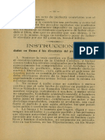 San Pio X - Instrucciones a los integristas