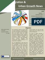 Newsletter Migration & Urban Growth
