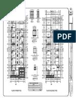 Arquitectura Plantas 1 y 2