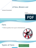 Maintenance of Fans, Blowers and Fluidizers