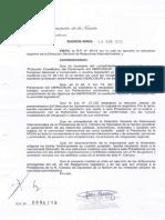 Resolución presidencia HCDN por Parlasur