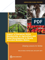 Impact of European Union Membership on Agriculture and Rural Development in Newly Acceded Member States