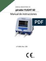 Flight 60 Manual de Operación, Instalación y Mantenimiento Español