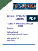 DUCASSE - Cadenas y Piñones