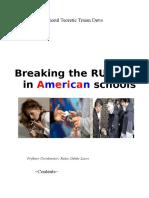 Breaking the Rules in American Schools