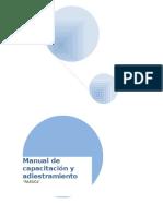Manual de Capacitación y Adiestramiento