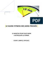 Guide Fitness 15min